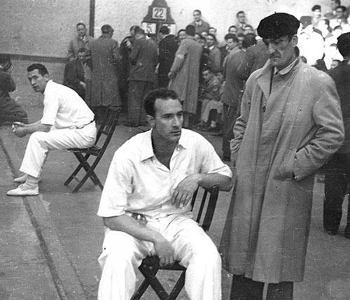 Final manomanista 1951. Toribio Jauregi Fondoa. Bergarako Udal Artxiboa.