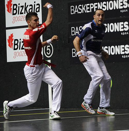Frontón Bizkaia. Final 2015. Foto Julen Uribe