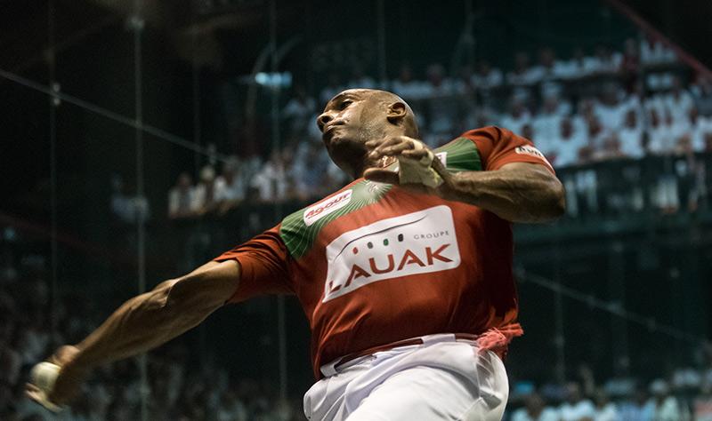 Waltari, campeón Master de trinquete. Foto: @dabidargindar