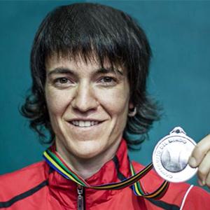 Maite Ruiz de Larramendi, un nombre entre los grandes de la pelota